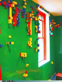 Lego Bedroom. I would have loved this as a kid