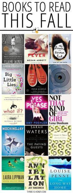 Fall 2014: Books to add to your reading list.