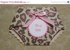 10 off 25 Printed Leopard print baby shower by TouchofClassbyAdri, $41.39