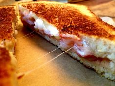 A new spin on the lobster roll -- lobster grilled cheese!