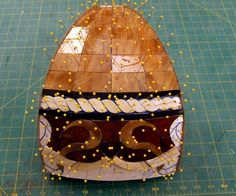 Panel in process Stained Glass Lamps, Tiffany Glass, Floor Lamp, Mosaic, Crafty, Motivation, Patterns, Outdoor Decor, Style