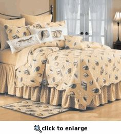 Gold Coast Shells Bedding