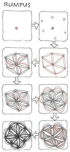Image result for huggins zentangle pattern