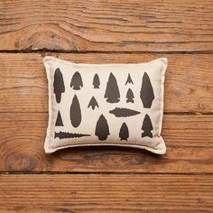 Arrowhead Pillow- Izola - Balsam Fir Pillow