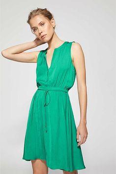 Sleeveless Tie Dress | Dresses