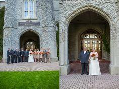 Manchester Wedding | London, Ontario | Old Court House by Roman Hidalgo Photography #fallwedding
