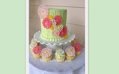 Springtime+Flowers+in+Chocolate!~+A+Cake+Decorating+Blog+Tutorial