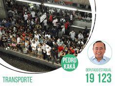 O transporte público de São Paulo tem solução! Precisamos de um efetivo programa de integração viária, que ligue a periferia às vias de acesso como as marginais. Nenhum bairro pode ficar isolado. O transporte alternativo é imperativo!