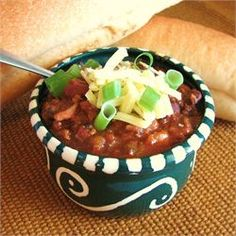 Fav Slow Cooker Chili