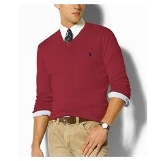 Ralph-Lauren-Mens-1006-Sweater-in-Date-Red