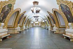 Plus beau métro Russie