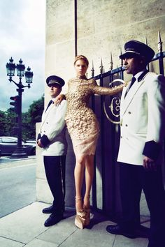 "November 2012 ""A Canadian in Paris"" editorial photographed by Benjamin Kanarek"