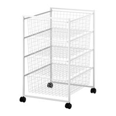$21.99 Width: 44 cm  Depth: 54 cm  Height: 77 cm  To hold group materials/texts beside each pod of desks.