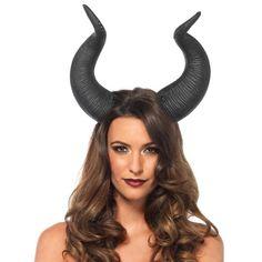 Dieren hoorns haarband zwart - Kostuum Party Halloween Fantasy