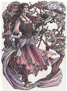 Irimë, daughter of Finwë and Indis