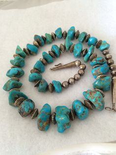 A personal favorite from my Etsy shop https://www.etsy.com/listing/236181060/rare-bisbee-turquoise-native-american