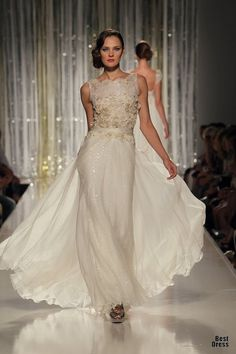 Tony Ward. Fitted and flowy.