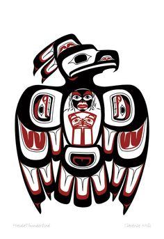 Haida Thunderbird by Clarence Mills