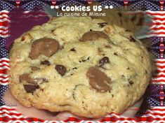 17 Ideas Cookies Moelleux Noix For 2019 Cookie Desserts, Cookie Recipes, Dessert Recipes, Easy Chocolate Chip Cookies, Grilling Gifts, Tasty, Yummy Food, Easy Food To Make, Cookies Et Biscuits