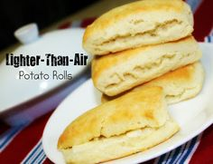 Lighter-Than-Air Potato Rolls - Two Maids a Milking