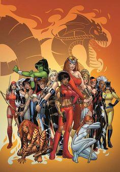 Ladies of Marvel