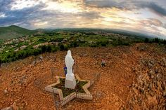 The Hill of Apparition at Medjugorje