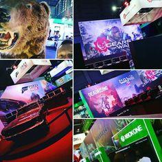 Le line up présent et futur sur le stand @xboxfr #PGW ! #Gears4 #HaloWars2 #ForzaHorizon3 #DeadRising4 #Xbox