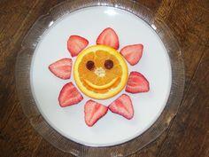 Orange and Strawberries Flowers
