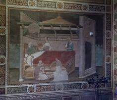Niccolò di Pietro Gerini (bottega) - Storie di Maria - S.Miniato, Chiesa di San Domenico, Cappella degli Armaleoni
