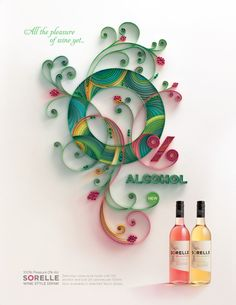 Papergraphic for launch of new wine brand in the UK