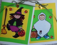 Halloween Note Cards by Craftsbycarrie for $3.90