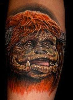 Ludo... Smell Bad! :) I can't believe someone got a tattoo of Ludo (from The Labyrinth)