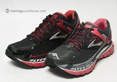 Brooks Glycerin 10 Mens and Womens Running Shoes...they come in PINK!!! cant wait for them to come out!!