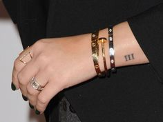 Demi Lovato's Number Tattoo