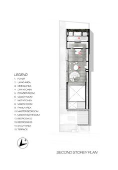 The Greja House,Second Floor Plan