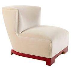 "Achille Salvagni, ""Vittoria"", Velvet and Lacquer Chair, Italy, 2014"