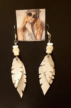 Handmade Jewellery, Drop Earrings, Pearls, Lace, Leather, Jewelry, Handmade Jewelry, Jewlery, Bijoux