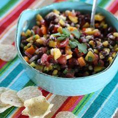 #black bean mango salsa