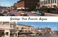 Prescott Arizona vintage greetings They photo postcard