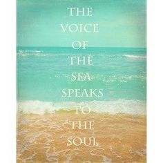 Good Morning Quotes Discover Beach Photograph The Voice Of The Sea Speaks To The Soul Quote Ocean Art Beach House Decor Beach Photograhy Beach Quote Waves Sand Ocean Quotes, Soul Quotes, Life Quotes, Quotes Quotes, Crush Quotes, Sea Qoutes, Relationship Quotes, Typed Quotes, Famous Quotes