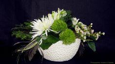 Centre de table dianthus | Fleurs D'Élysée