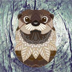Ornate Otter