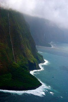 Jurassic Park Waterfall, Kauai - Hawaii | Megan Alexia