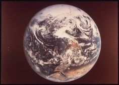 Earth, as Seen by Astronauts Eugene Cernan, Ronald Evans and Harrison Schmitt from Apollo 17 Debussy La Mer, Eugene Cernan, Environmental Protection Agency, Still Picture, Photo Maps, National Archives, Apollo, Christmas Bulbs, Earth