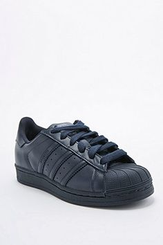 Adidas X Pharrell - Baskets Supercolor Superstar bleu marine - Urban Outfitters