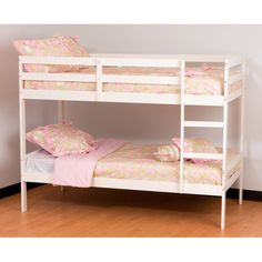 Storkcraft Highlander Twin-Over-Twin Bunk Bed. Can Santa turn this into a bunk bed fort with slide?? DIY Santa