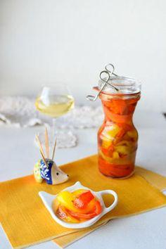 パプリカのお惣菜♪旨味と甘みじゅわーん エスカリバータ  レシピブログ Tapas Recipes, Blog