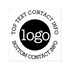 Your Business Logo with Contact Information Self-inking Stamp #personalized #rubberstamps Promo Gifts, Custom Rubber Stamps, Stationery Store, Card Companies, Wood Stamp, Name Badges, Custom Business Cards, Business Branding, Business Events