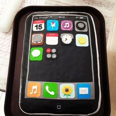 iPhone cake by Evil