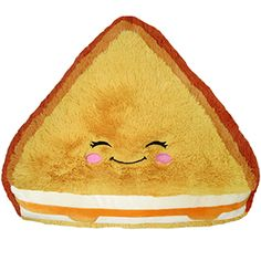 Surprise launch! It's a Comfort Food Grilled Cheese! The tastiest sandwich of all now in huggable form! For everyone who ever wished they could hug their lunch! #squishable #plush